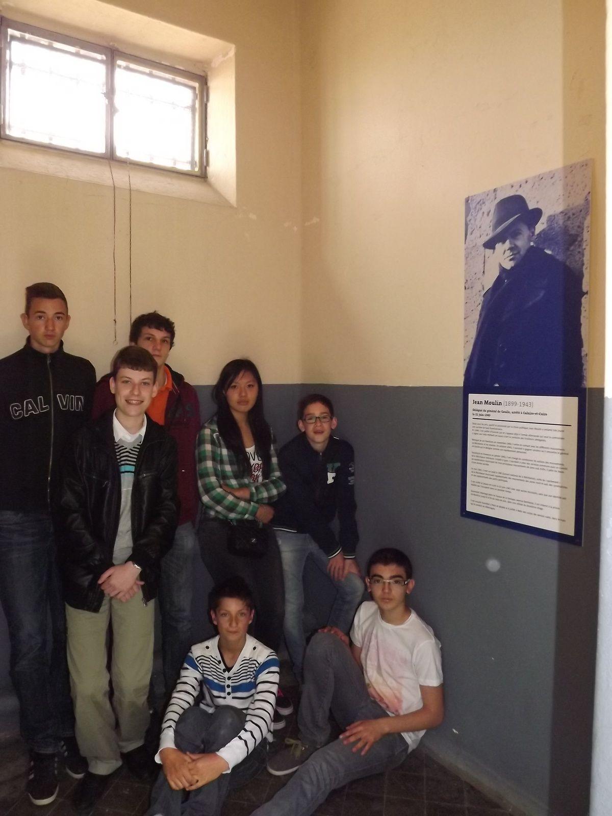 Dans une cellule de 4m², on entassait jusqu'à 7 personnes à même le sol.
