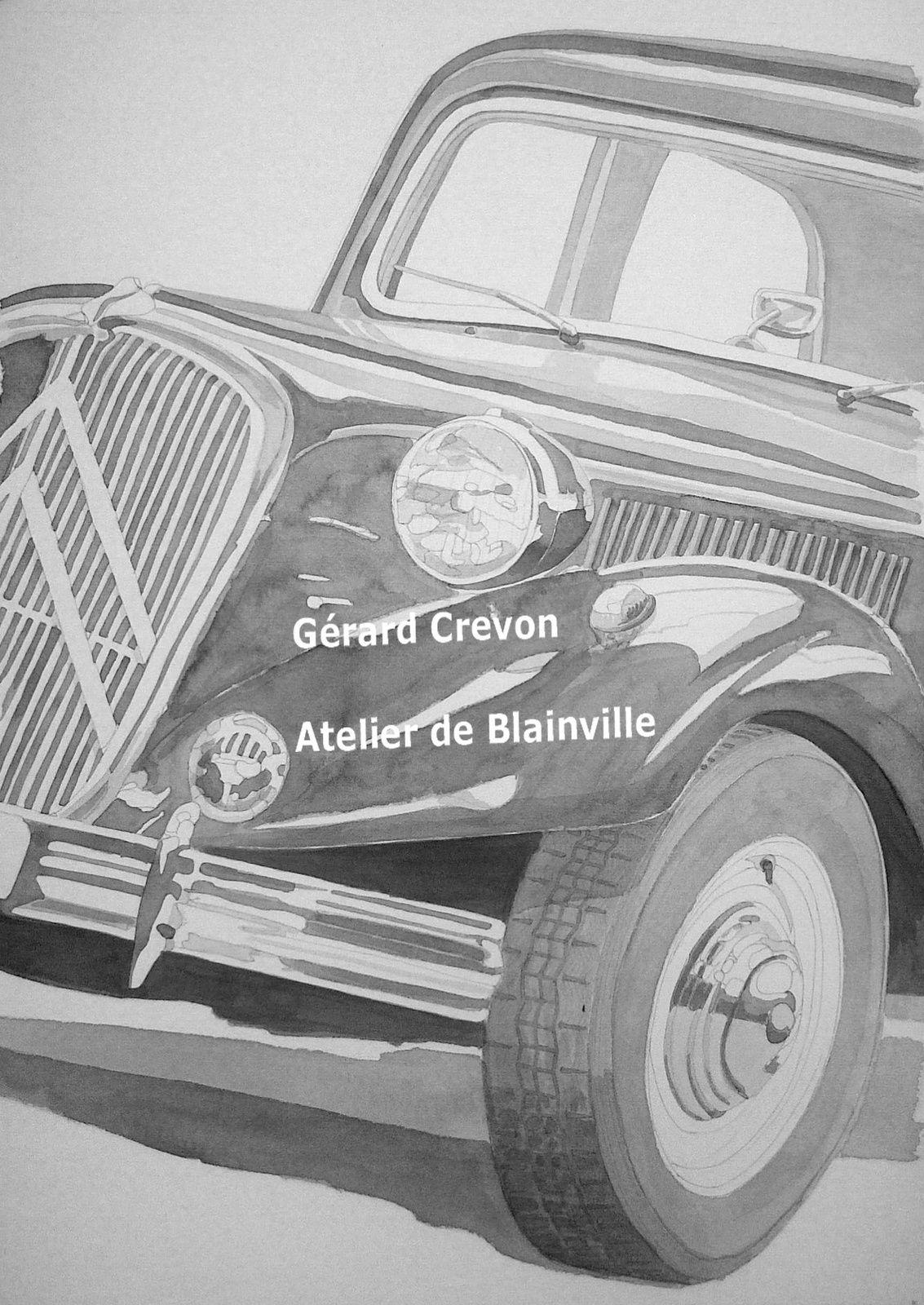 Toutes les annotations Gérard Crevon, Atelier de Blainville ont été ajoutées par nos soins.