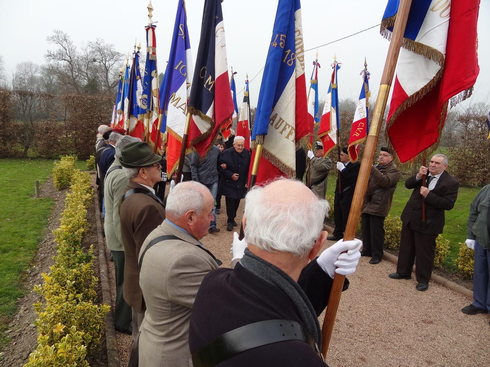 Stèle Jean Moulin à Melay