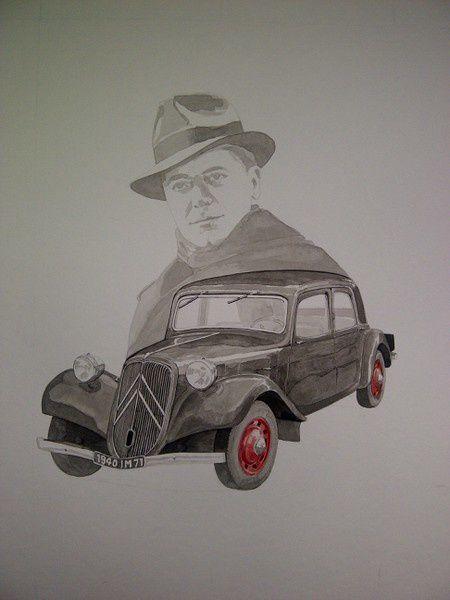 Gérard, membre de notre comité de soutien du 78 et aussi dessinateur.