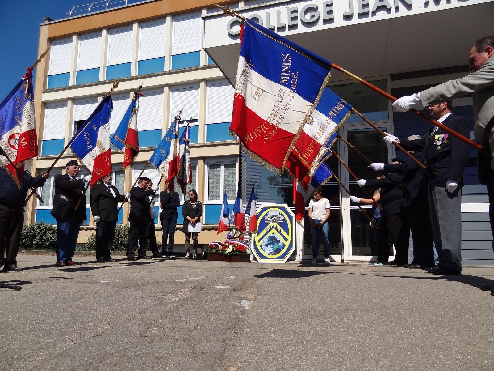 Commémoration CNR au collège