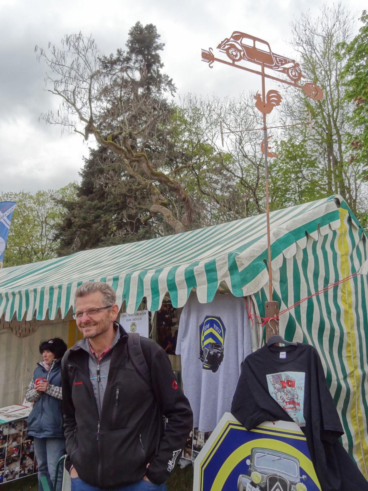 Marco, notre ami Suisse, représentant du club Citroên 34-57.