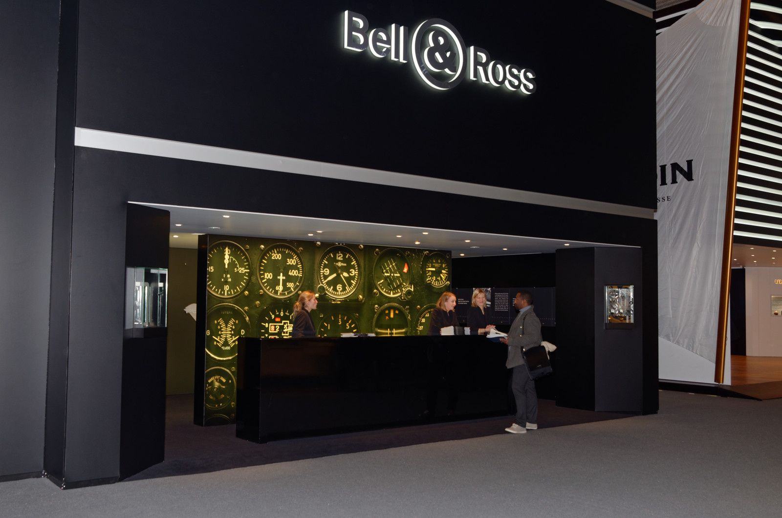 Basel World 2015 - Stand Bell &amp&#x3B; Ross
