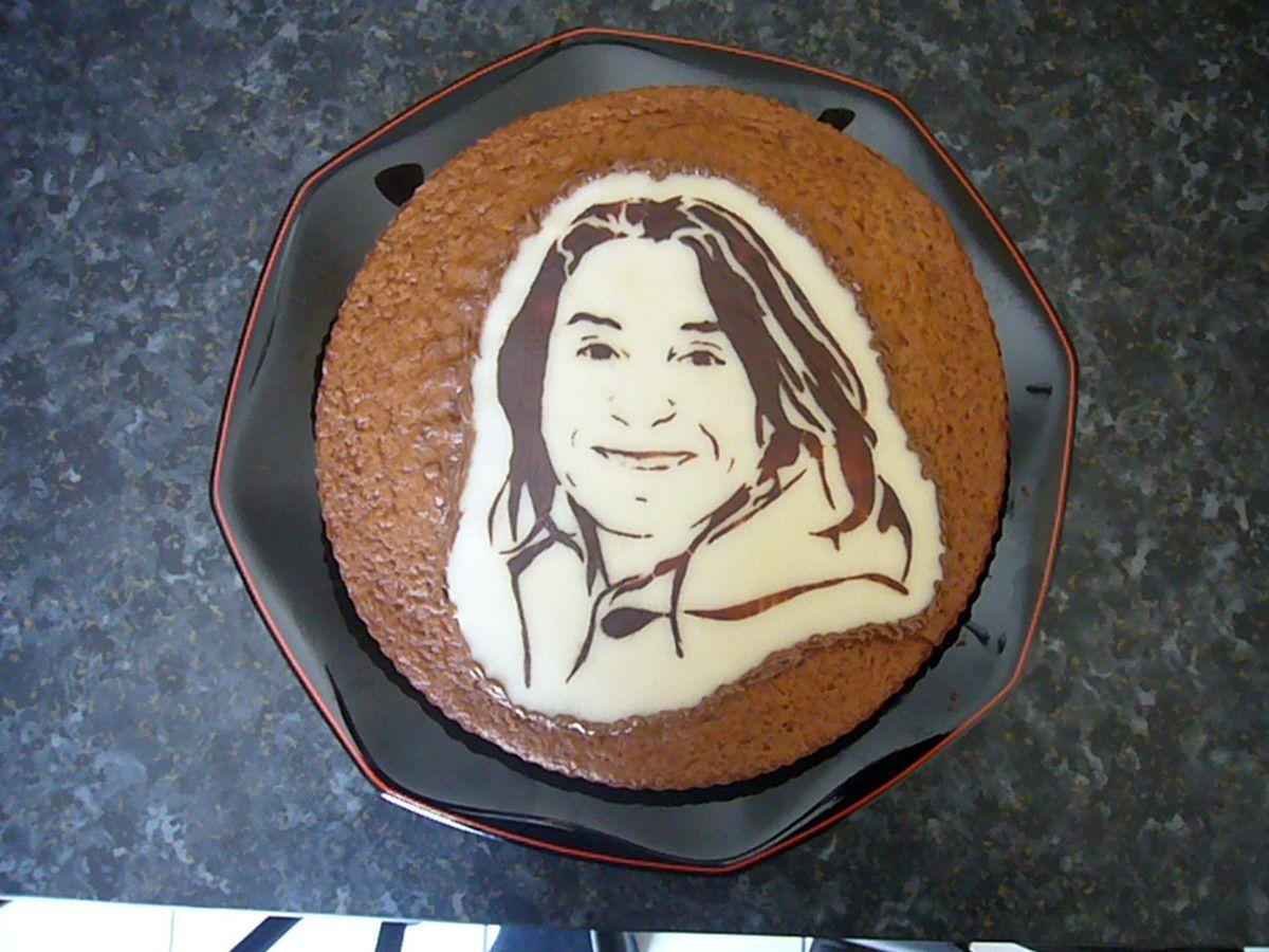 Portrait en chocolat