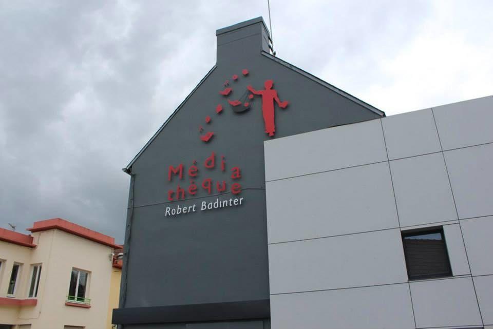 Médiathèque Robert Badinter