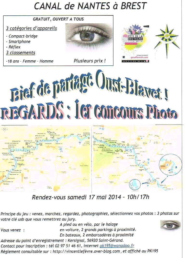 1ère présentation à Saint Leau 2013, La Chèze.