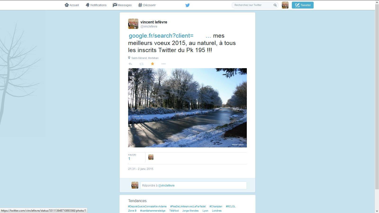 """Twitter, un média utille pour optimiser une """" éventuelle volonté collective """" de rayonnement géographique...."""