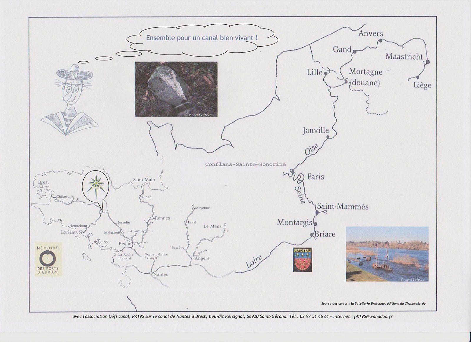 Défi Canal, ou une volonté pour la navigation en Bretagne intérieure aussi !