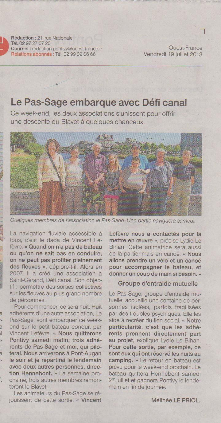 vu dans la presse locale, mais rien pour l'arrivée du toit à Saint-Gonnery  ?