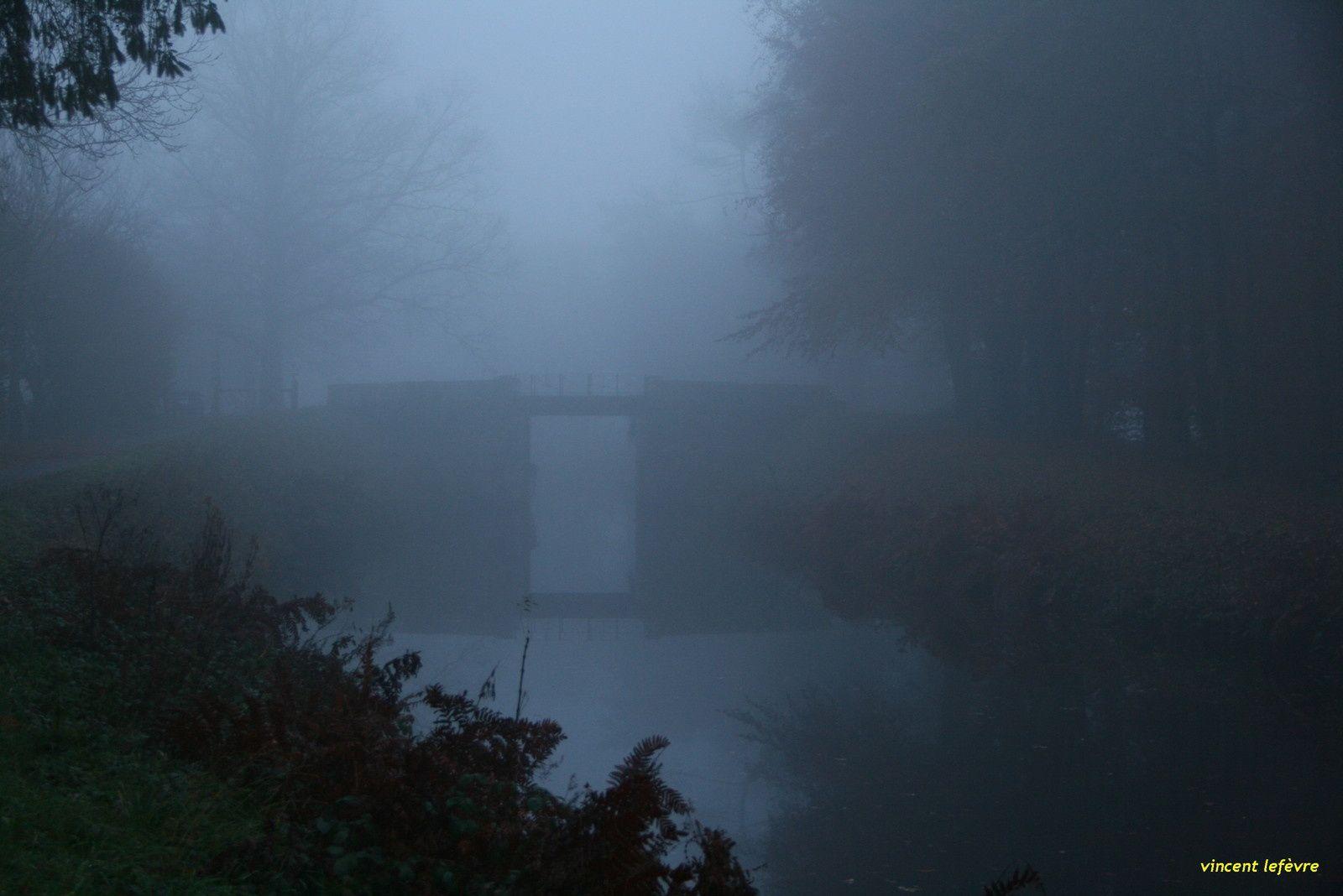 un pont sur le canal de Nantes à Brest...