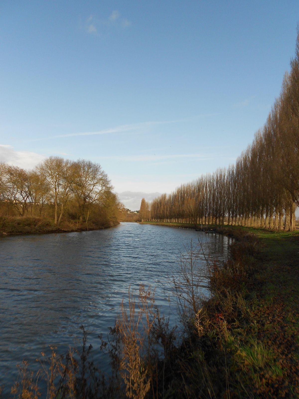 peu avant le dernier barrage sur l'Eure