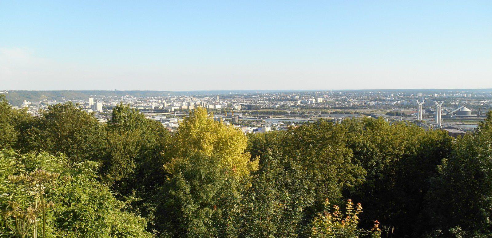 "Rouen vu du ""panorama"""