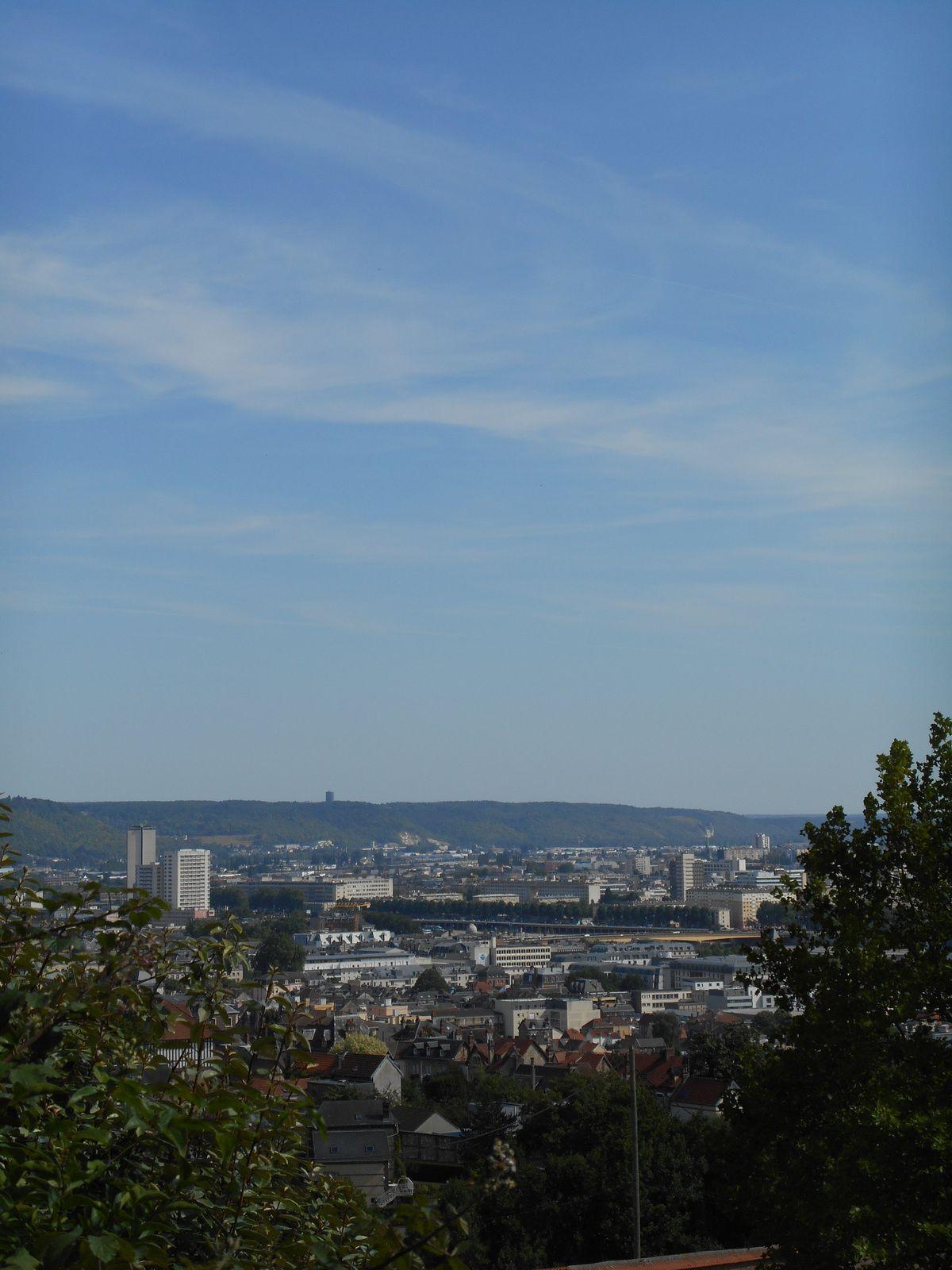 la vallée de la Seine à Rouen
