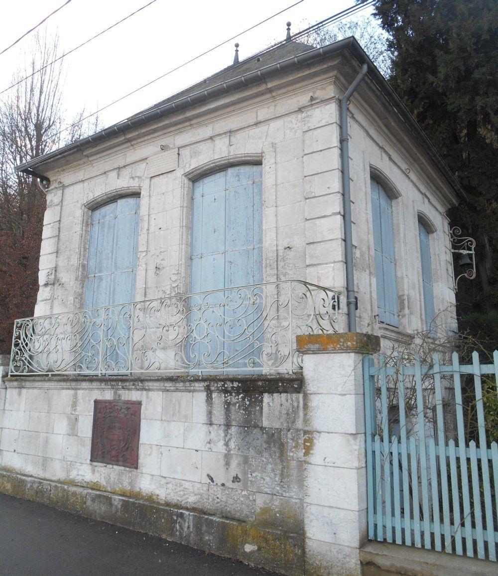 le celèbre pavillon Flaubert à Croisset