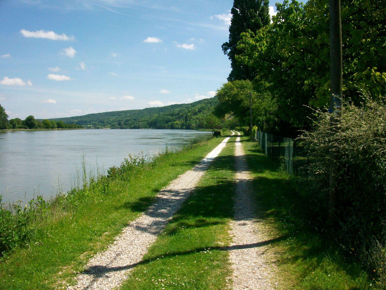chemin de halage à la Foulerie