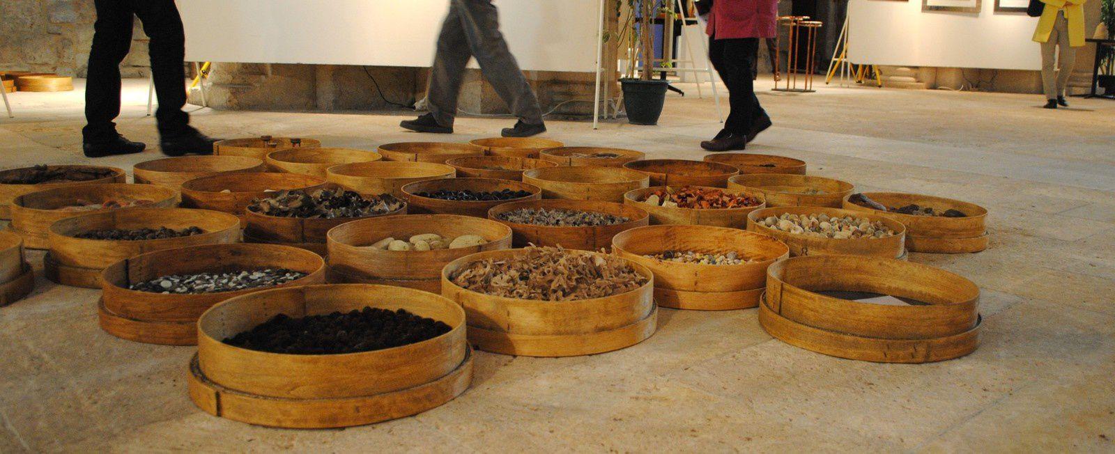L'installation de 50 aires dans l'abbatiale 2014