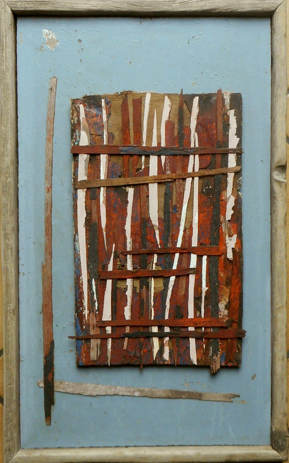 """assemblage - """"window"""" pascal Levaillant"""
