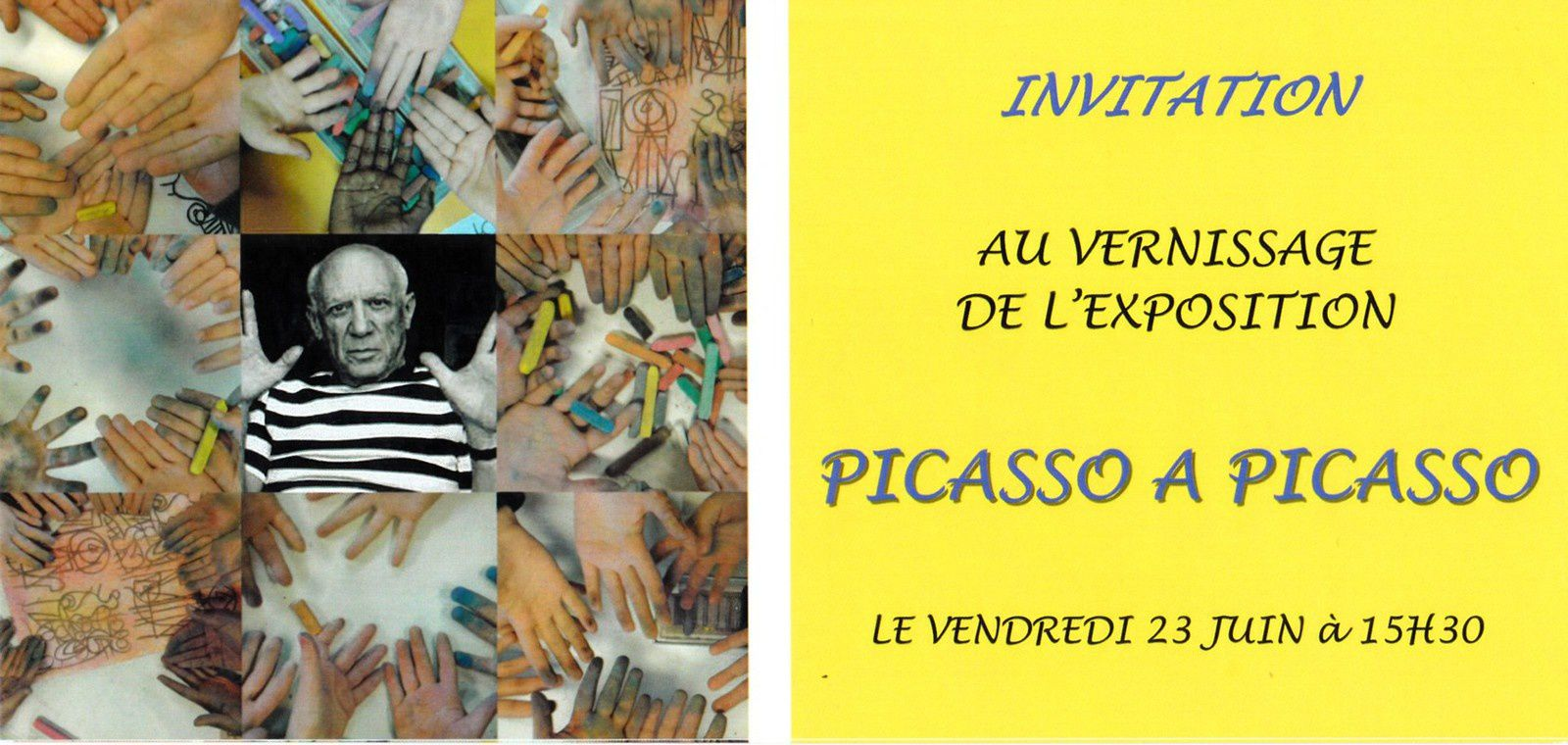 invitation au vernissage