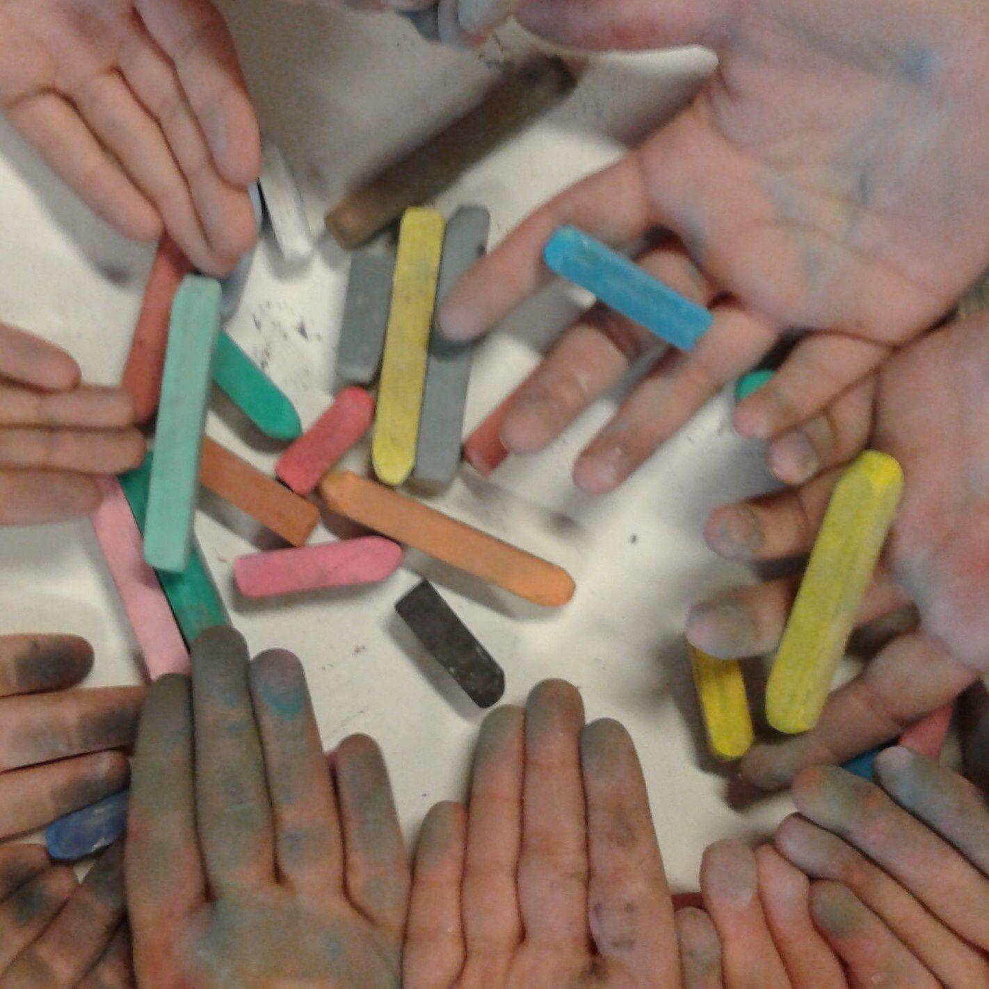 les mains des élèves - 11