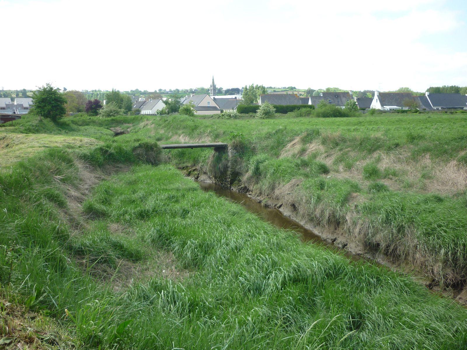 Le Pont Derlande entre Hillion et Yffiniac -