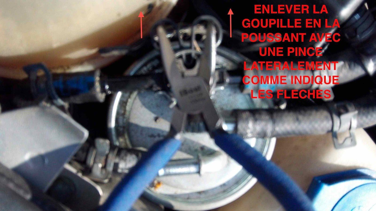Changement filtre à GAZOLE sur Audi A3 8L 1998