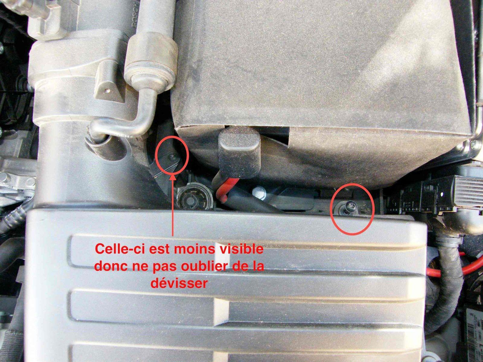 Changement filtre à air SEAT LEON 3 2.0 TDI 150 CV