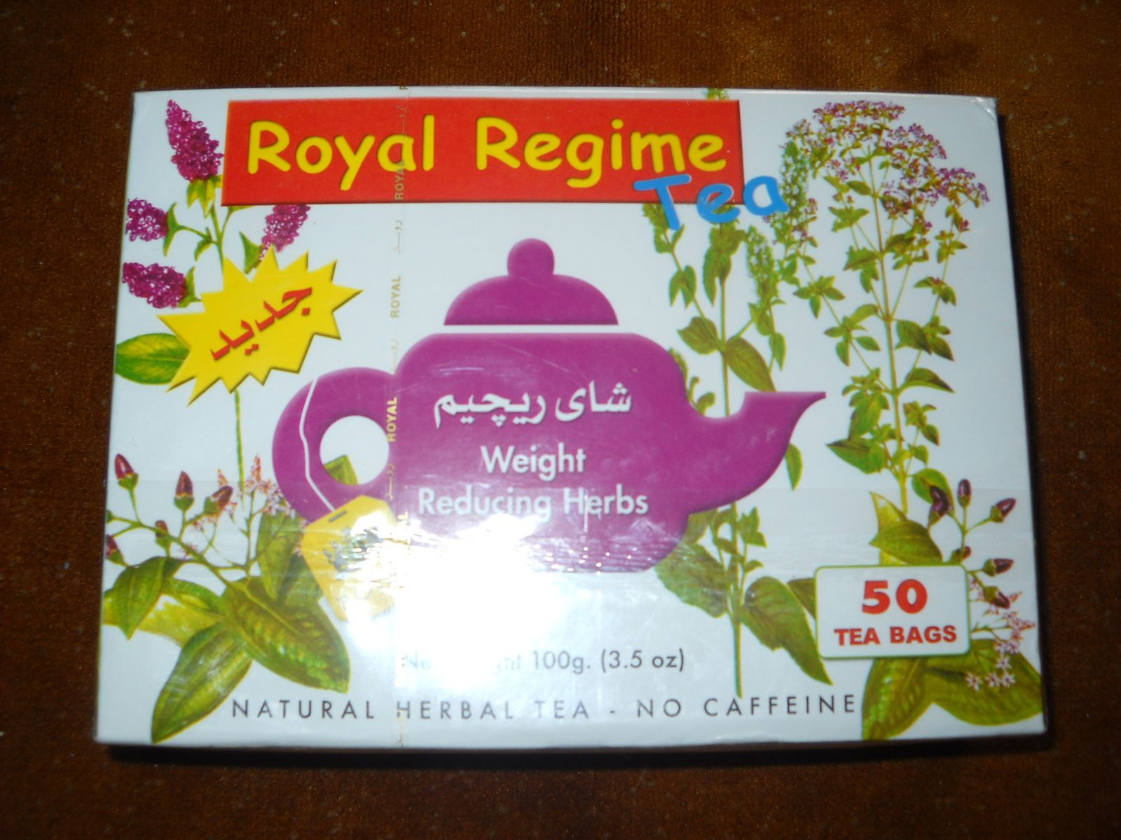 Thé royal regime 50 sachets