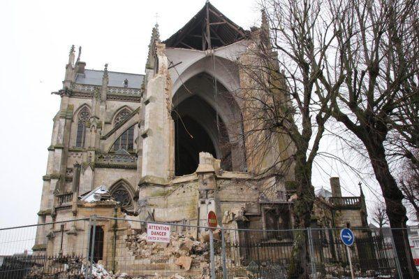 Démolition Eglise Abbeville...