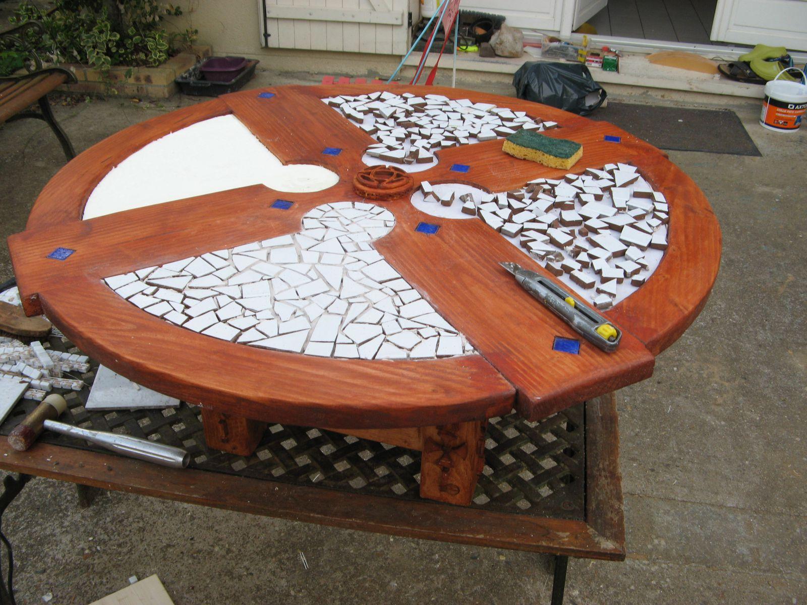 table basse celtique