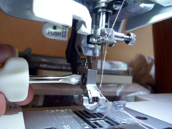 Ambition 1.0 Pfaff: free motion quilting foot