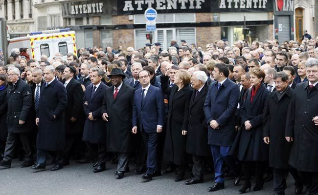 Paris, capitale du monde entier / Paris, March Against Terrorism