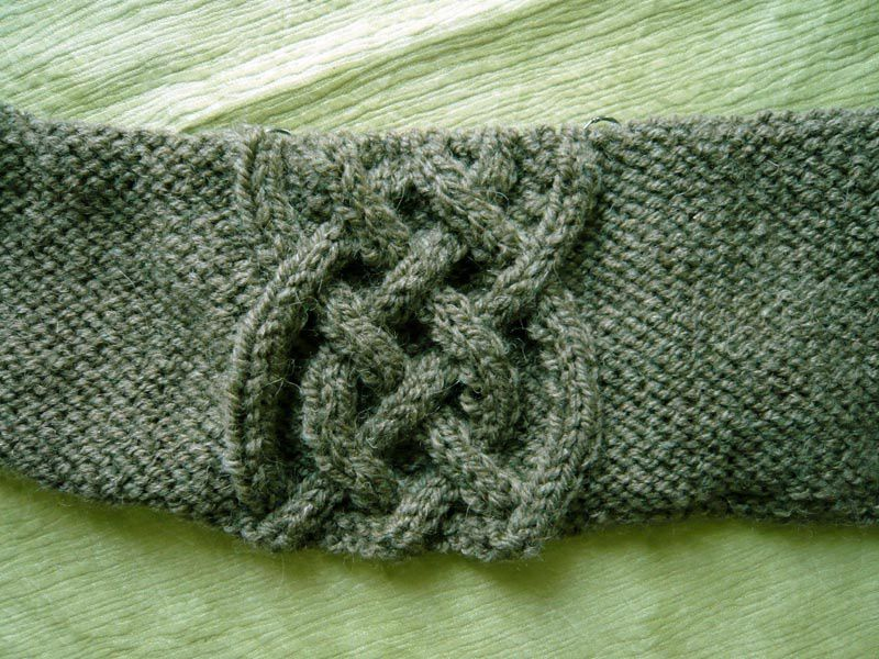 Torsades tricot / Knitting cables
