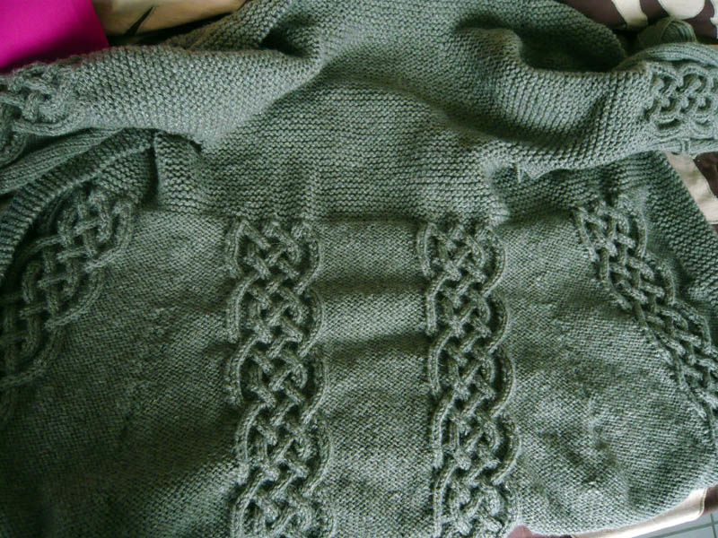 Veste en tricot / Knitting vest