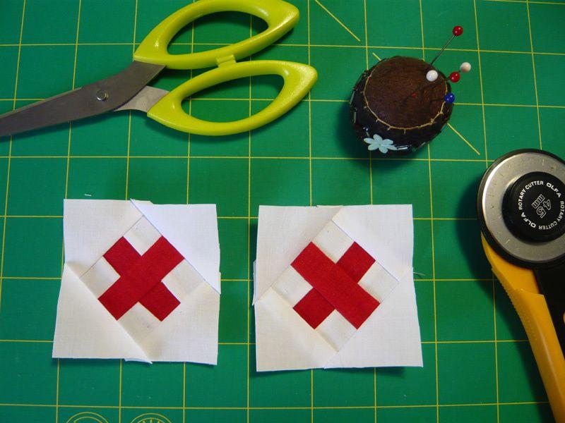 Petites croix, tutoriel / Crosses