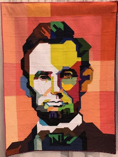 Lincoln by Kim Soper @lelandavestudios - Photo @quiltingmod