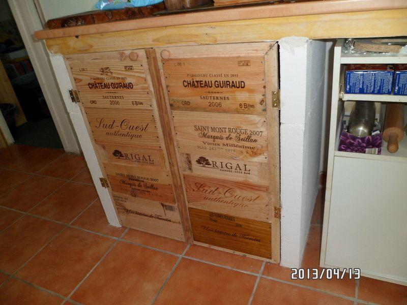 Caisse  Vin Palette  Atelier Mauzac