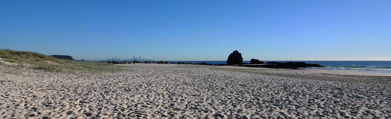 De la plage