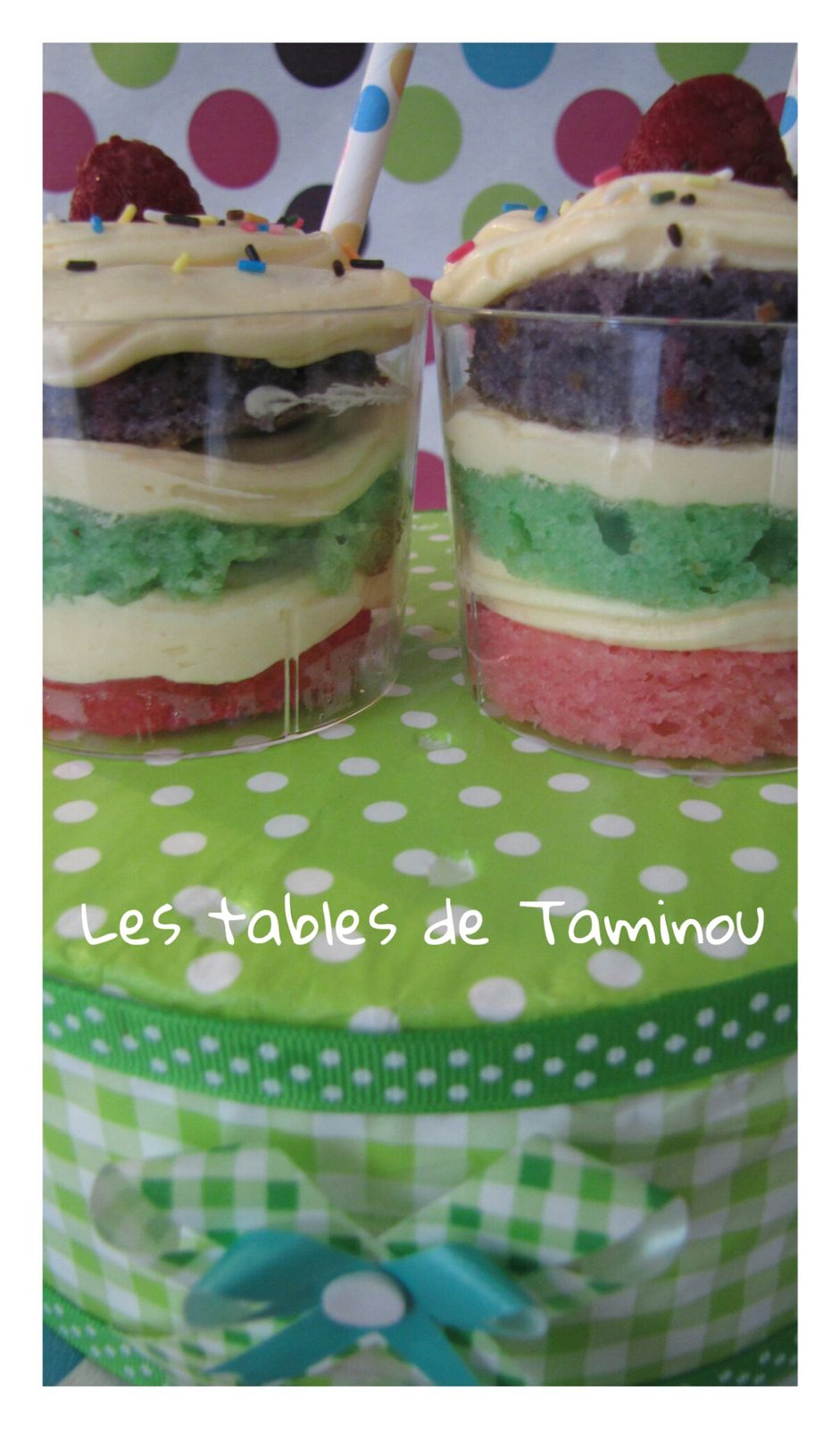 Mini layer cake en Verrine...
