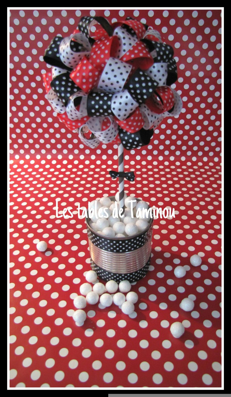 Arbre à ruban pour vos sweets table et baby showers...