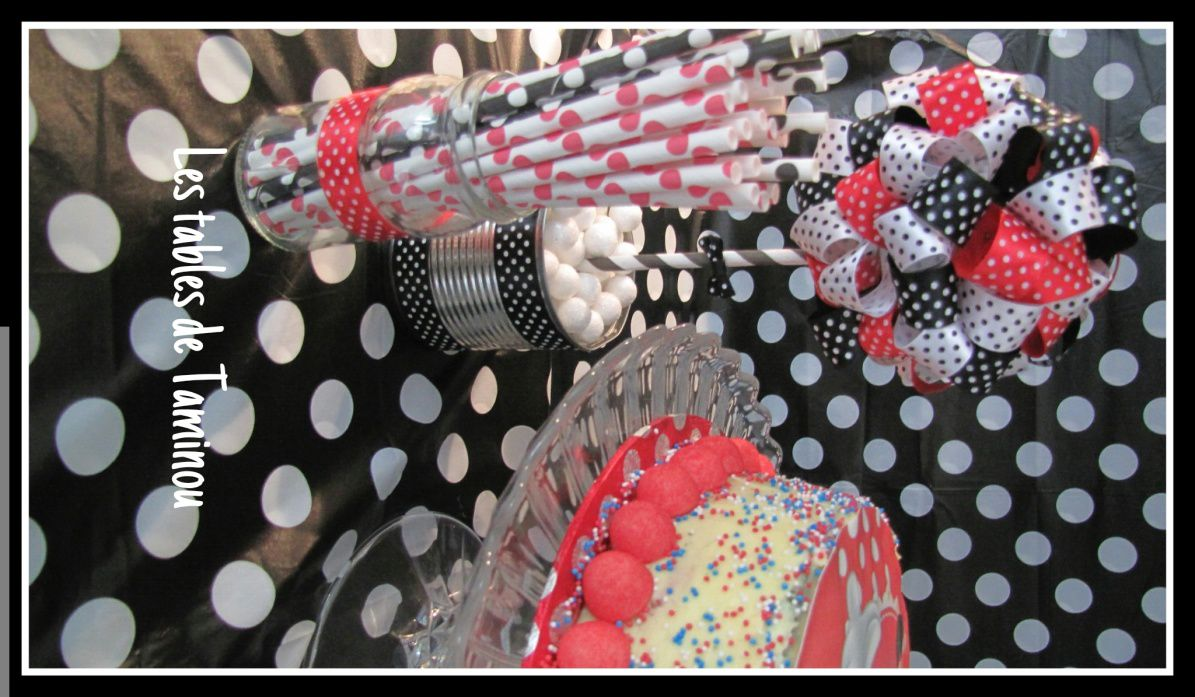 Rainbow Cake Minnie...(à ma façon !!! )