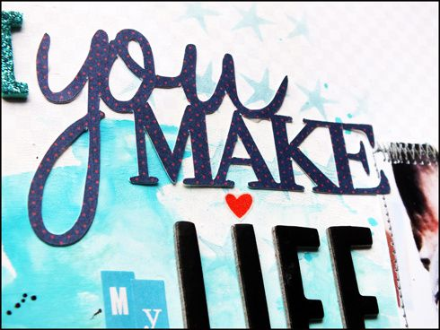 You make my life ... DT Spray &amp&#x3B; Scrap