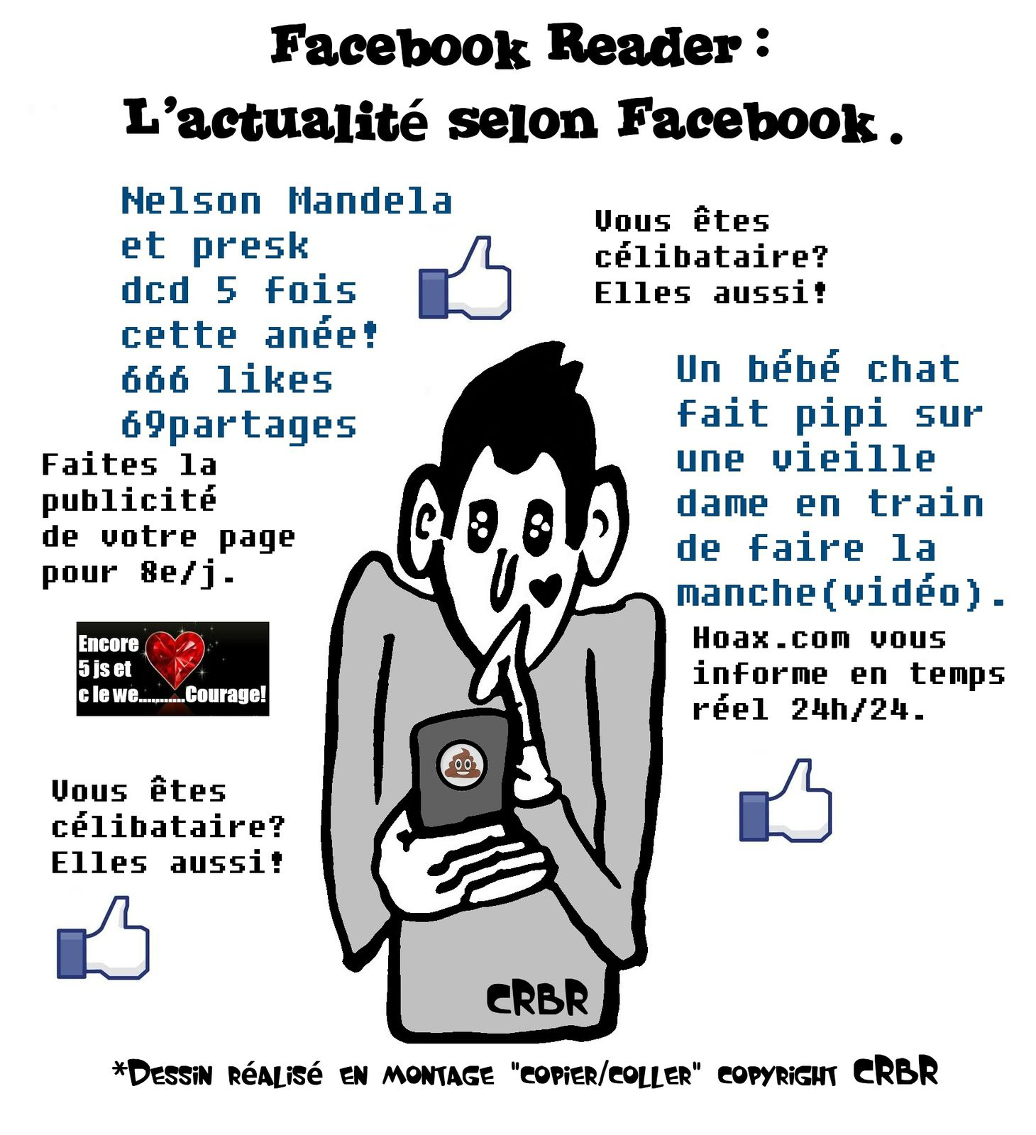 Facebook reader: L'actualité selon Facebook.