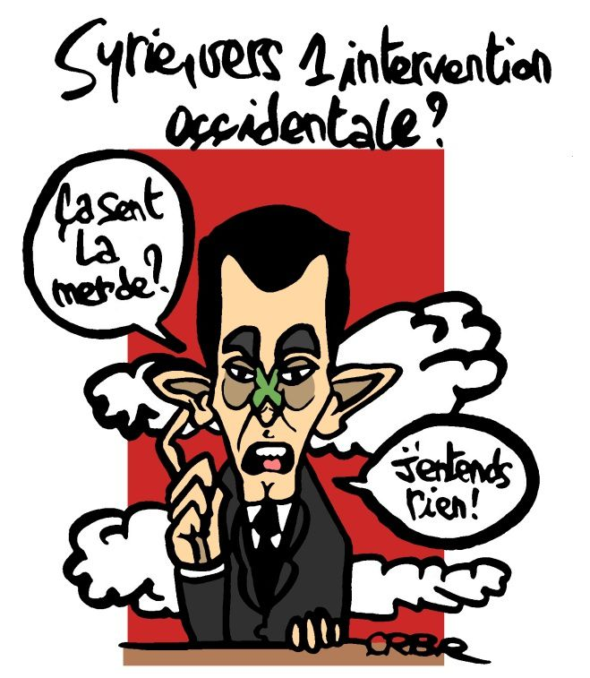 Syrie, vers une intervention occidentale?
