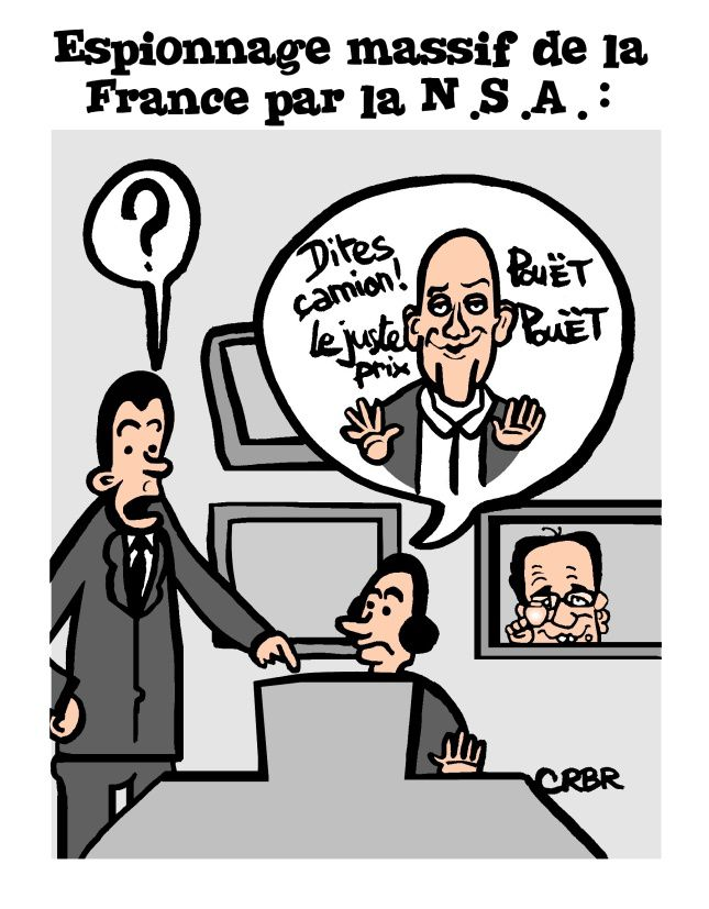 Espionnage massif de la France par la NSA: