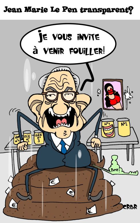 Jean Marie Le Pen transparent?