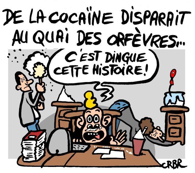 De la cocaïne disparait au Quai des Orfèvres:
