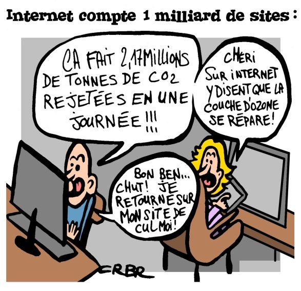 Internet compte 1 milliard de sites: