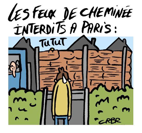 Les feux de cheminée interdits à Paris: