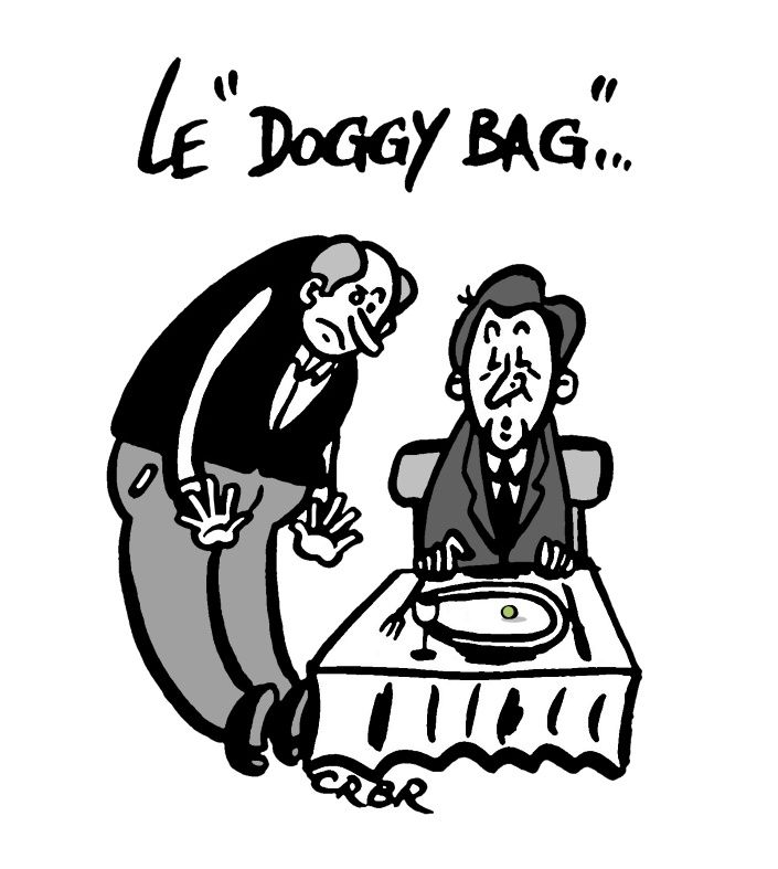 Le &quot&#x3B;Doggy Bag&quot&#x3B;: