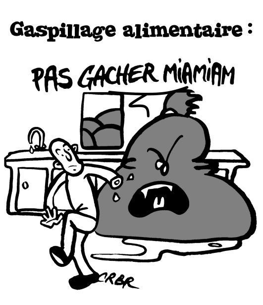 Gaspillage alimentaire: